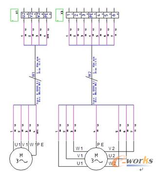 图5 电缆端子排接线图