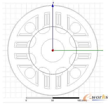 图1  发电机截面图