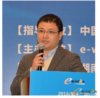 图1 新迪数字工程系统有限公司业务拓展总监刘红政