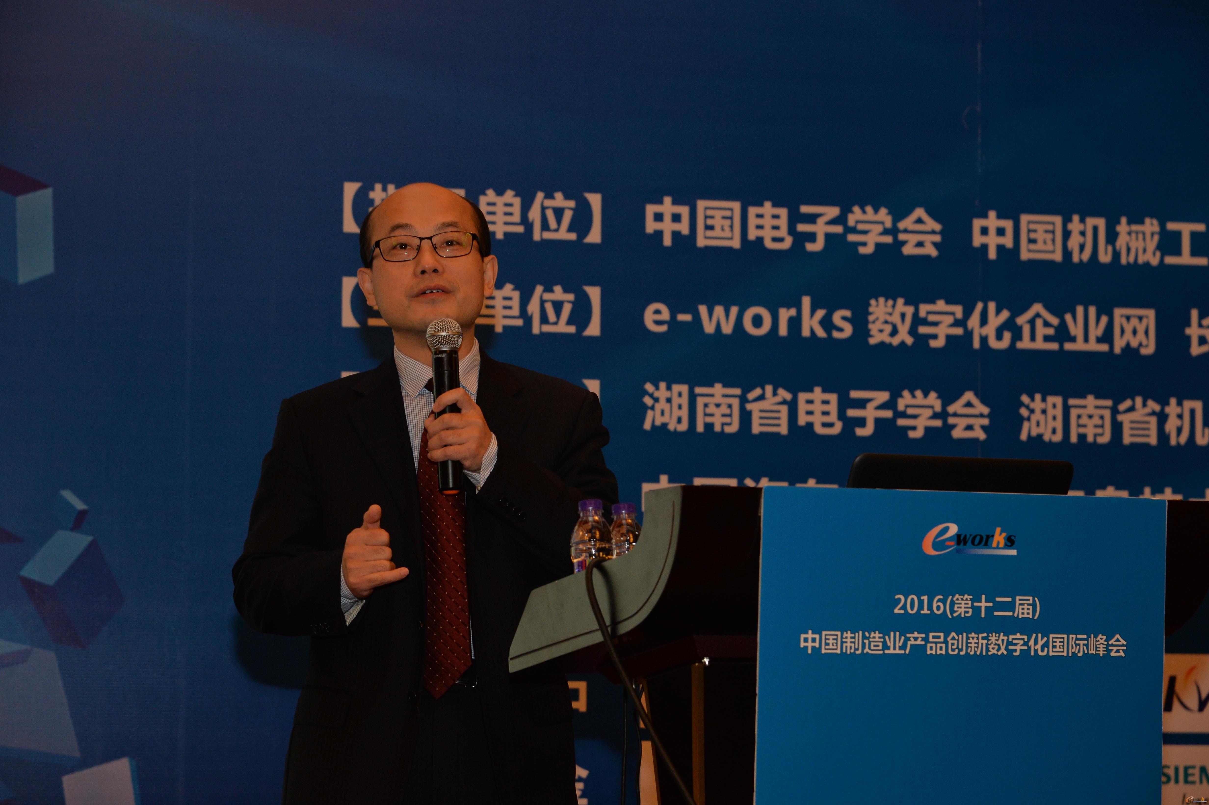 武汉开目信息技术股份有限公司总经理陈万领