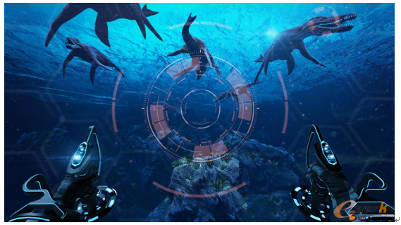图1 虚拟游戏