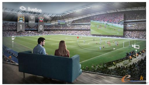 图4 虚拟体育直播