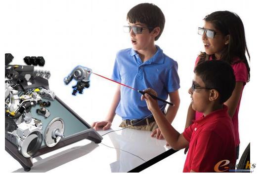 图5 虚拟现实应用于教育