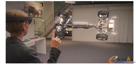 图7 虚拟现实应用于汽车设计