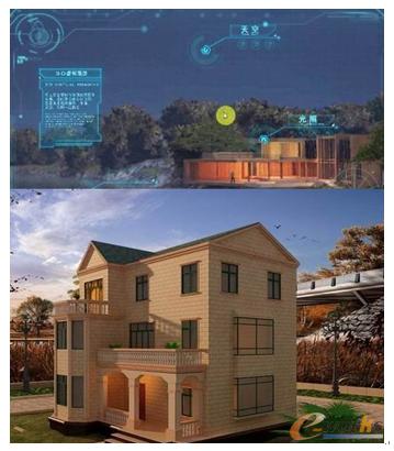 图11 虚拟现实应用于建筑设计