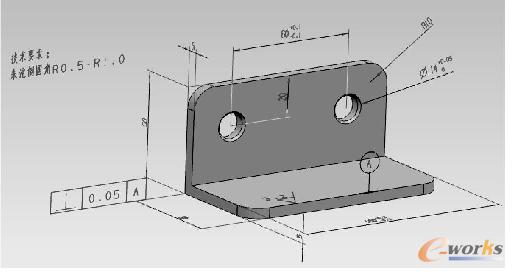 基于NX的产品三维创新_CAD_栈桥标注数字化钢产品cad图片