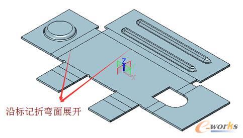 三维CAD图纸:中望3D建筑外部徽派图纸,高效快建筑钣金实例修改图片