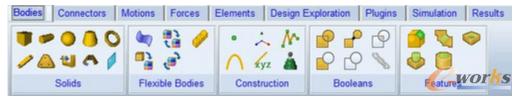 图1-2 构造元素工具栏