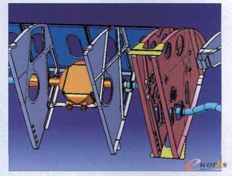 飞机漫画立体图片