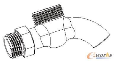 圆管剖面示意图