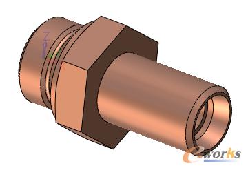 图1 卡套式管接头