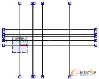 图3 绘制多条偏移线