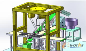 图3 DELTA并联机器人应用于FPC成品装盘