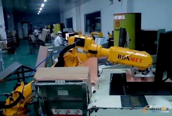 圖4 工業機器人