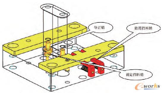 基于NX三维垫片的软件普通冲裁模具设计_CAcad快捷键v垫片绘制图片
