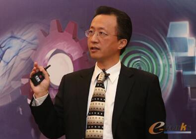 图/安世亚太副总裁徐劼勇先生