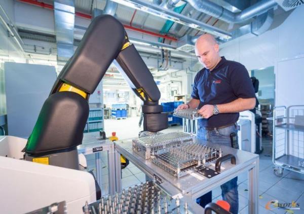 博世的APAS协作机器人
