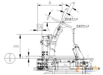 图1 驾驶区主要尺寸
