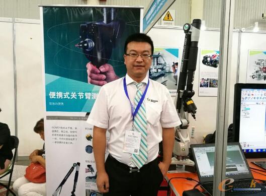 海克斯康大华南区产品营销总监 杨荣辉