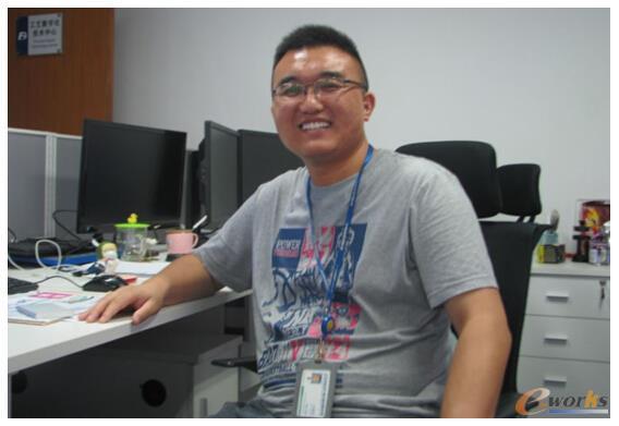 东风设计研究院工艺数字化技术中心主任闫勇斌