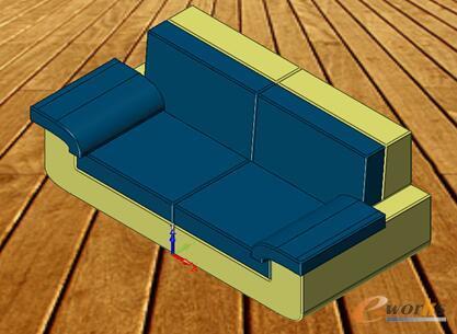 图1 沙发