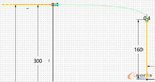 图4 扶手位置