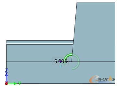 图12 拔模