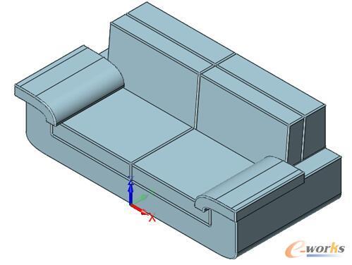 图20 沙发设计效果