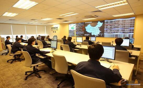 图3 日立电梯工程云服务中心
