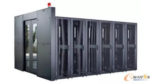 """冷热通道气流遏制系统""""在数据中心机房中的应用"""