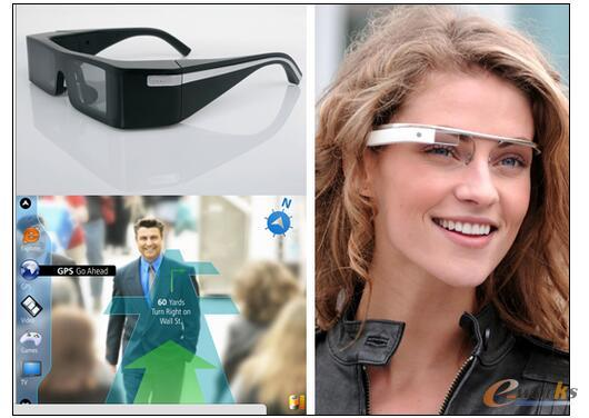 Lumus OE-31眼镜式显示器和谷歌Project Glass眼镜