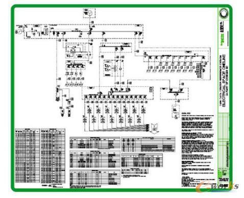 电气系统原理图