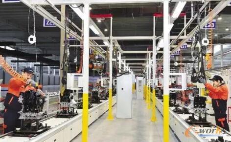 RFID在汽车焊接生产线的应用