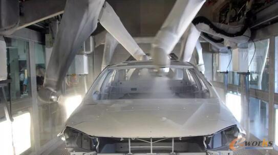 RFID在汽车涂装生产线的应用