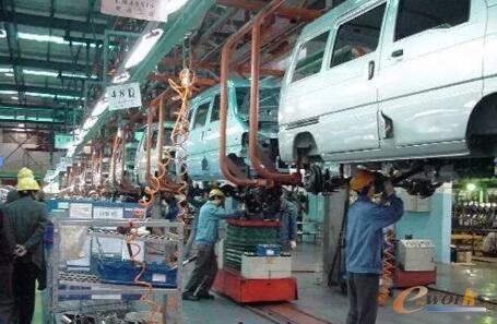 RFID在汽车总装生产线的应用