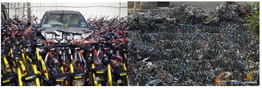 """共享单车""""围城"""""""