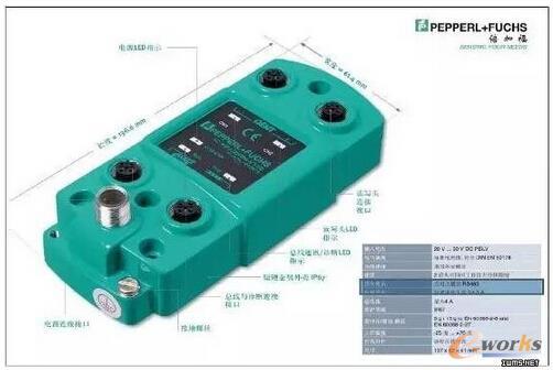 双通道控制器(读写头型号:IQH-FP-V1)