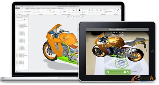 图3 为Creo4.0的设计产品创建AR体验