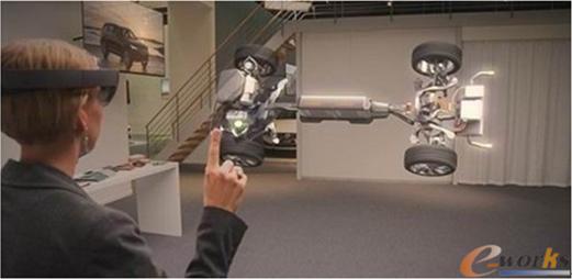 虚拟现实应用于汽车设计