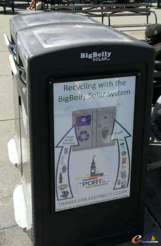 BigBelly智能垃圾箱