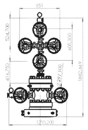 基于solidwoks的螺纹式井口装置参数化设计