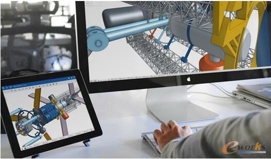 图3 设计师通过云端CAD进行产品设计