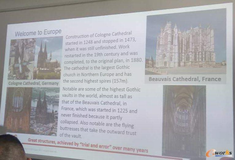 欧洲著名教堂的建设情况
