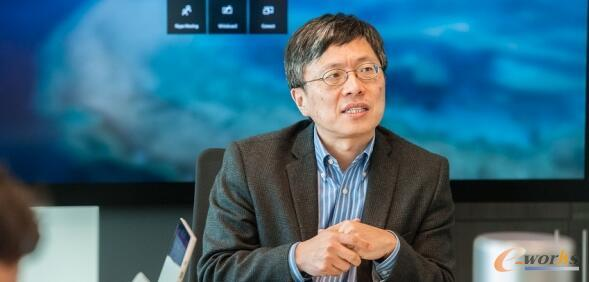 微软执行副总裁沈向洋