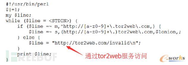 通过Tor2Web格式化请求脚本
