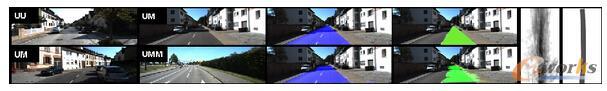 路面和车道检测数据集