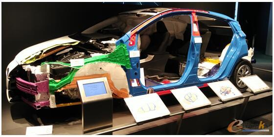丰田汽车采用的高强度车身