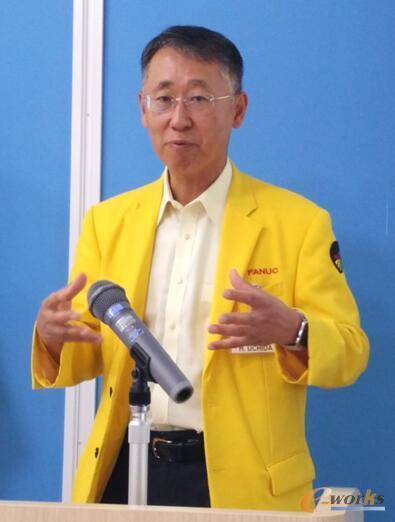 FANUC公司副社长、CTO 内田裕之先生