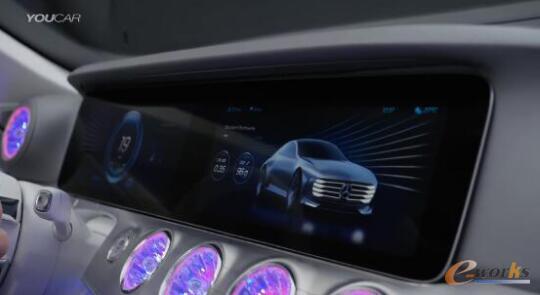 奔驰的新一代智能驾驶舱系统案例