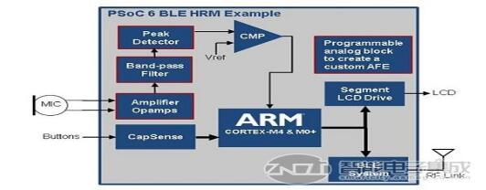 PSoC 6 BLE AFE 示例──心音图( PCG )